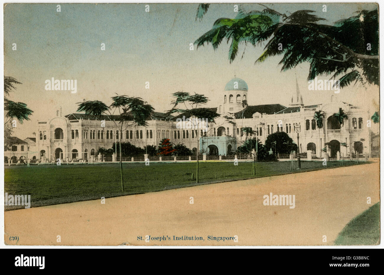 St Joseph's Institution         Date: early 20th century? - Stock Image