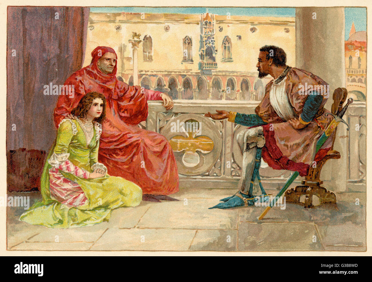 othello speech about wooing desdemona