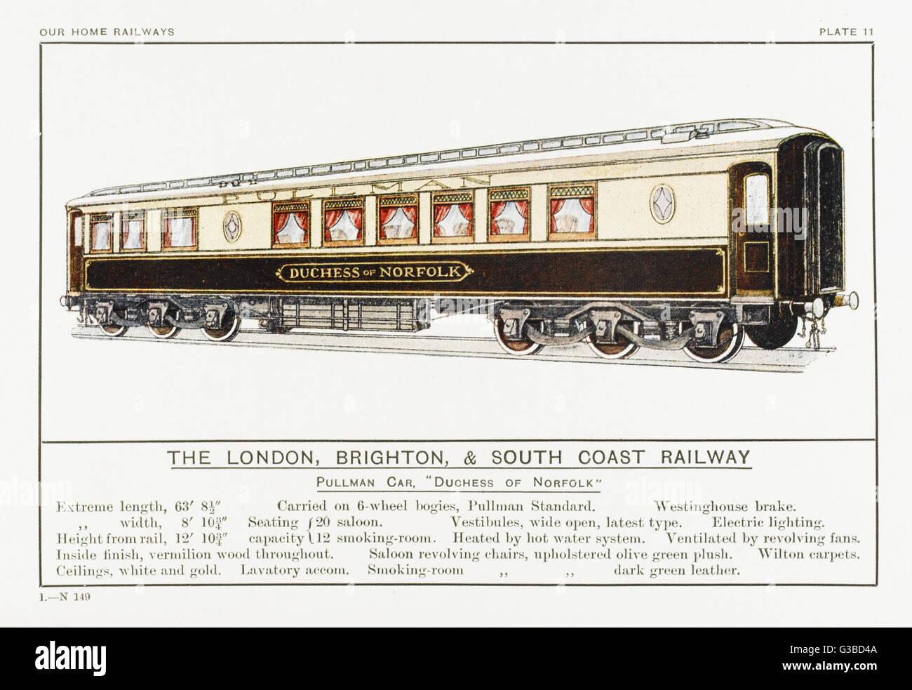 Brighton Railway Station Photo London Brighton /& South Coast Railway 15
