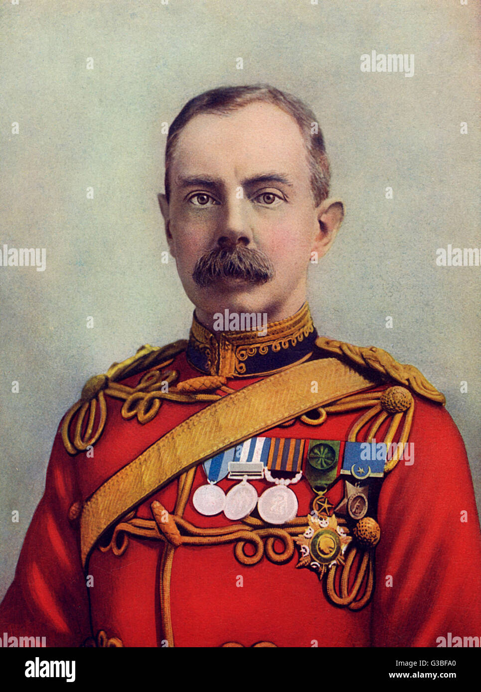 FIELD MARSHALL HERBERT  CHARLES ONSLOW, 1ST VISCOUNT  PLUMER OF MESSINES  English military commander.      Date: Stock Photo