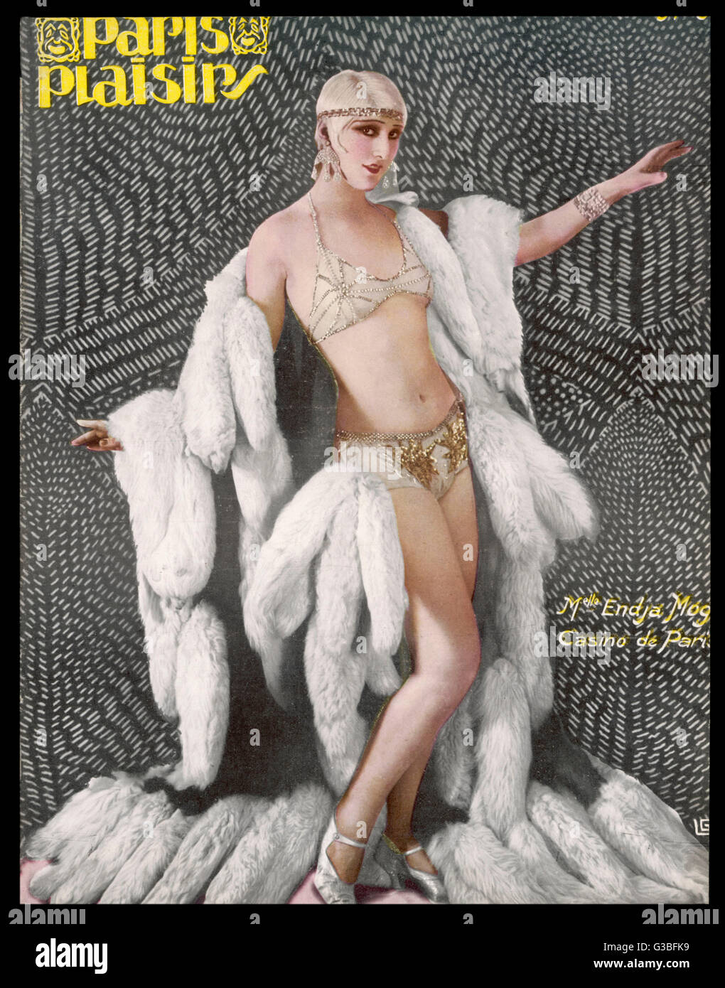 739301860f9e5 Woman Fur Bikini Stock Photos   Woman Fur Bikini Stock Images - Alamy