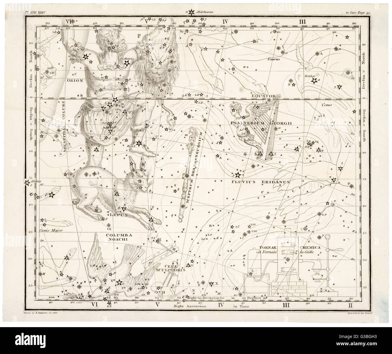 Orion Star Map Stock Photos Orion Star Map Stock Images Alamy - Orion star map