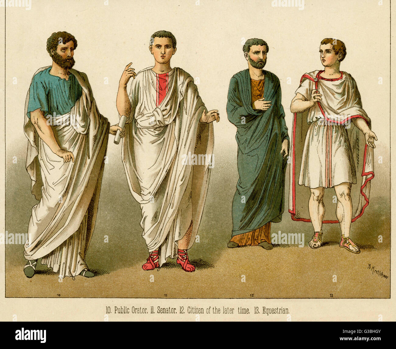 Ancient Roman Clothing For Men: Ancient Rome Clothing Stock Photos & Ancient Rome Clothing