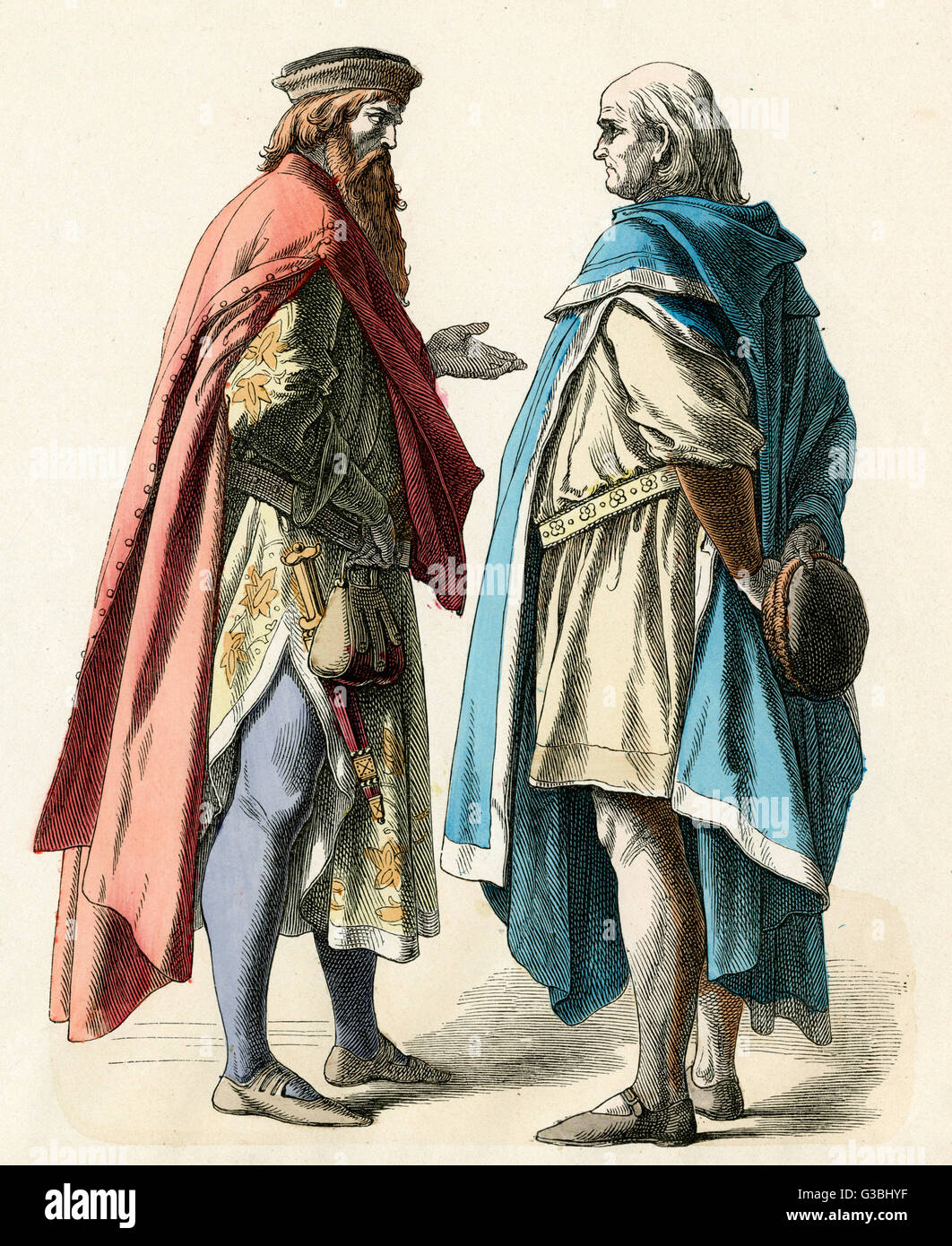 14th Century Clothing Stock Photos & 14th Century Clothing Stock