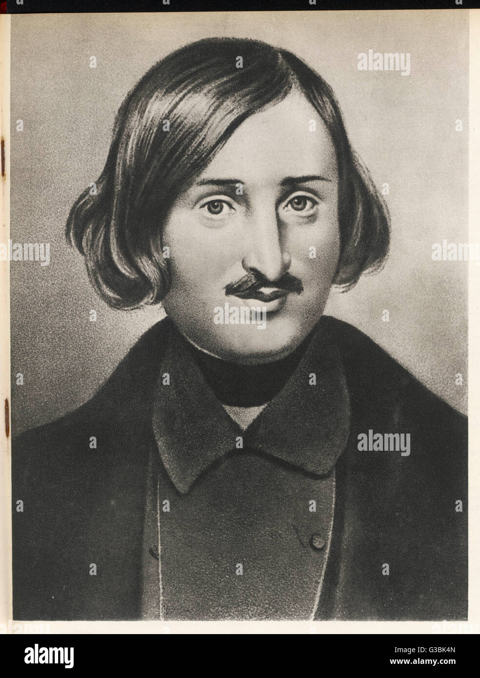 NIKOLAI VASILIEVICH GOGOL Russian writer, regarded as  the father of realism in  Russian literature : noted  for - Stock Image