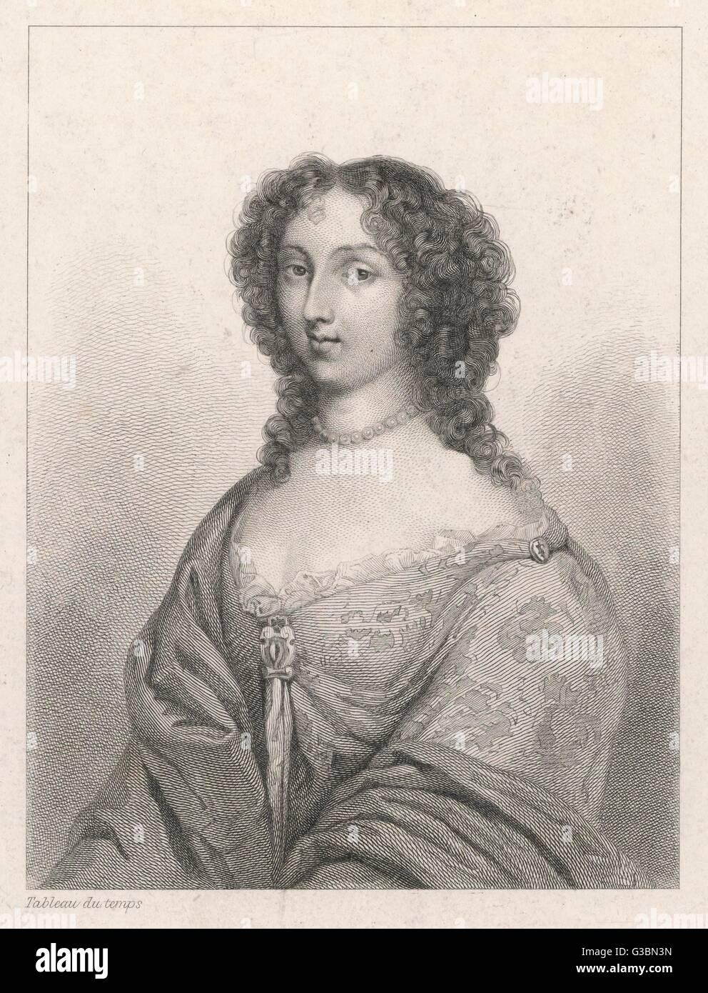 MARIE-CLAIRE de CREQUY,  comtesse de JARNAC         Date: ? - 1684 - Stock Image