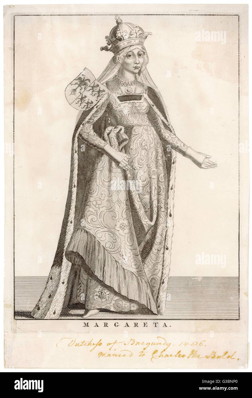 MARGARET OF YORK also known Margaret, duchess of Burgundy