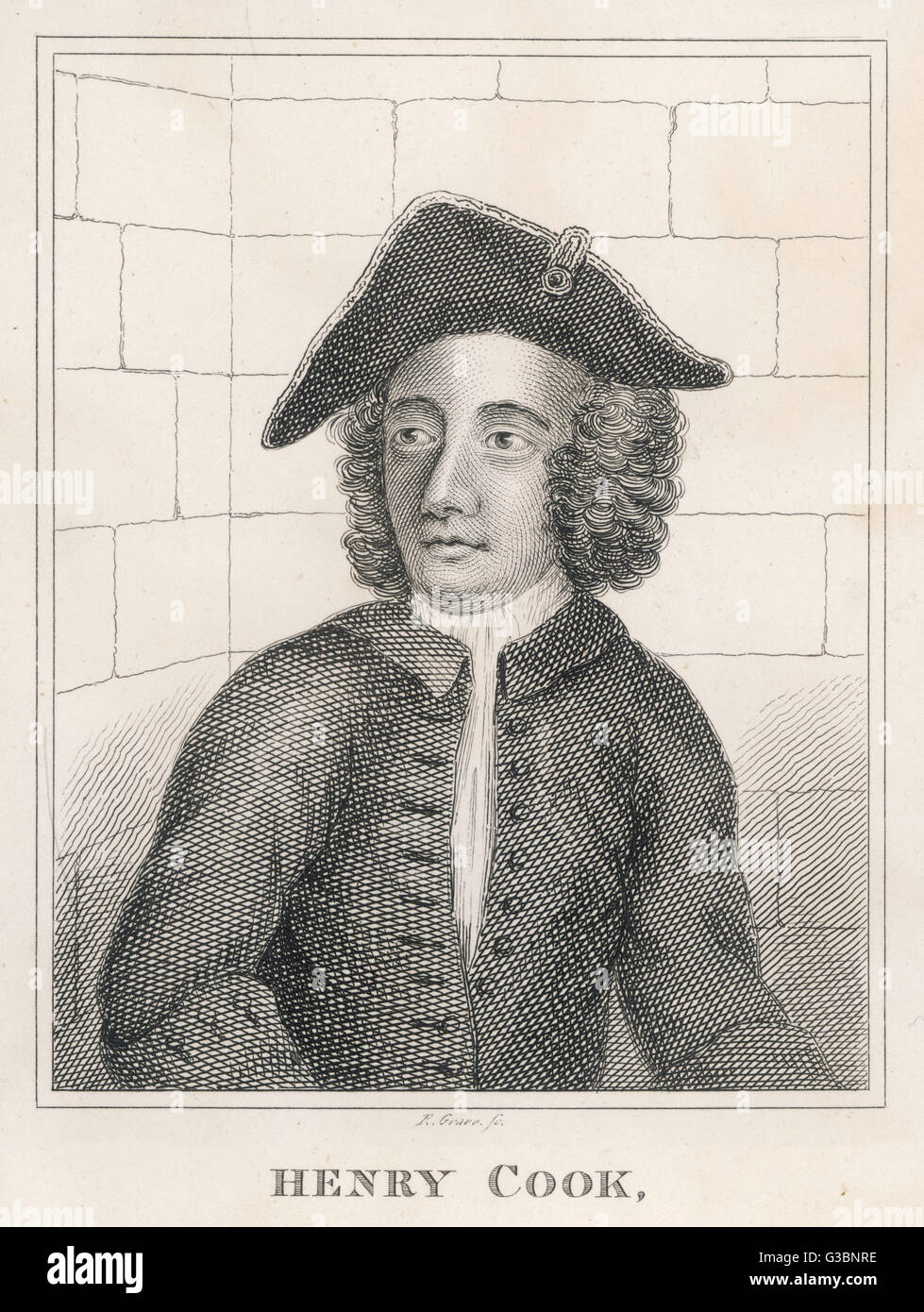 HENRY COOK: Debtor, petty  thief, giver of threats of  violence, foot-pad,  highwayman, horse thief,  shoemaker, - Stock Image