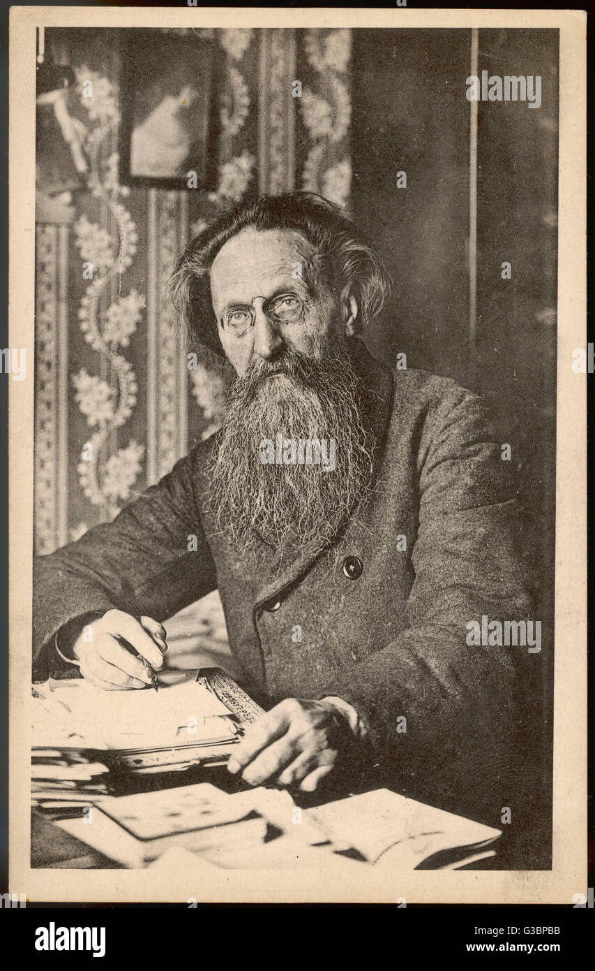 JULES GUESDE  French socialist politician. Closely associated with Karl Marx.      Date: 1845 - 1922 - Stock Image