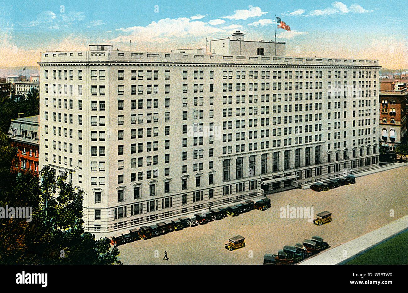 Washington dc usa the bureau of war risk insurance building