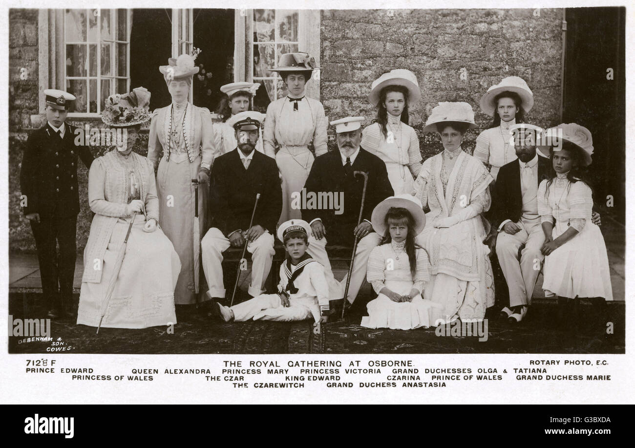 Groovy British And Russian Royal Families At Osborne House Isle Of Download Free Architecture Designs Scobabritishbridgeorg