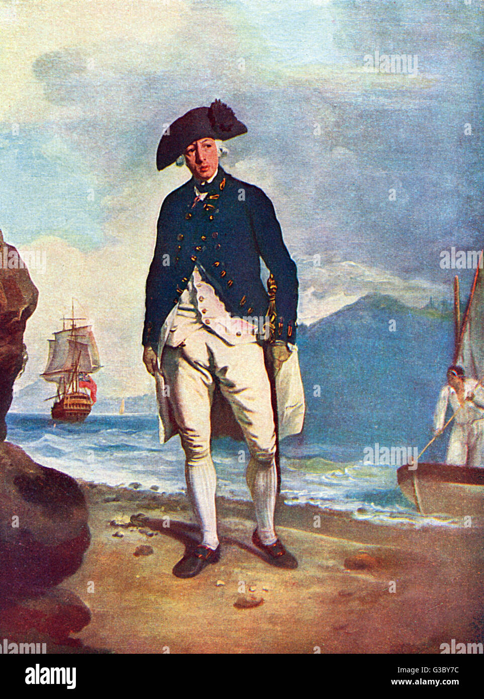 Arthur Phillip, Vice-Admiral and Governor of New South Wales (formerly Captain Phillip, R.N.) (1738-1814). In January - Stock Image