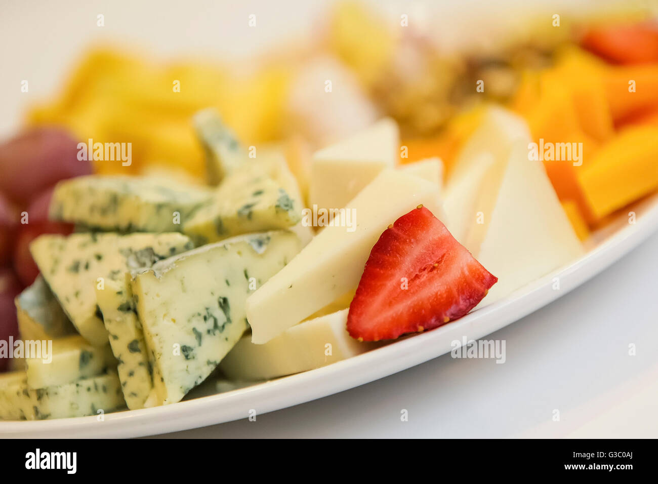 Snack Buffet - Stock Image