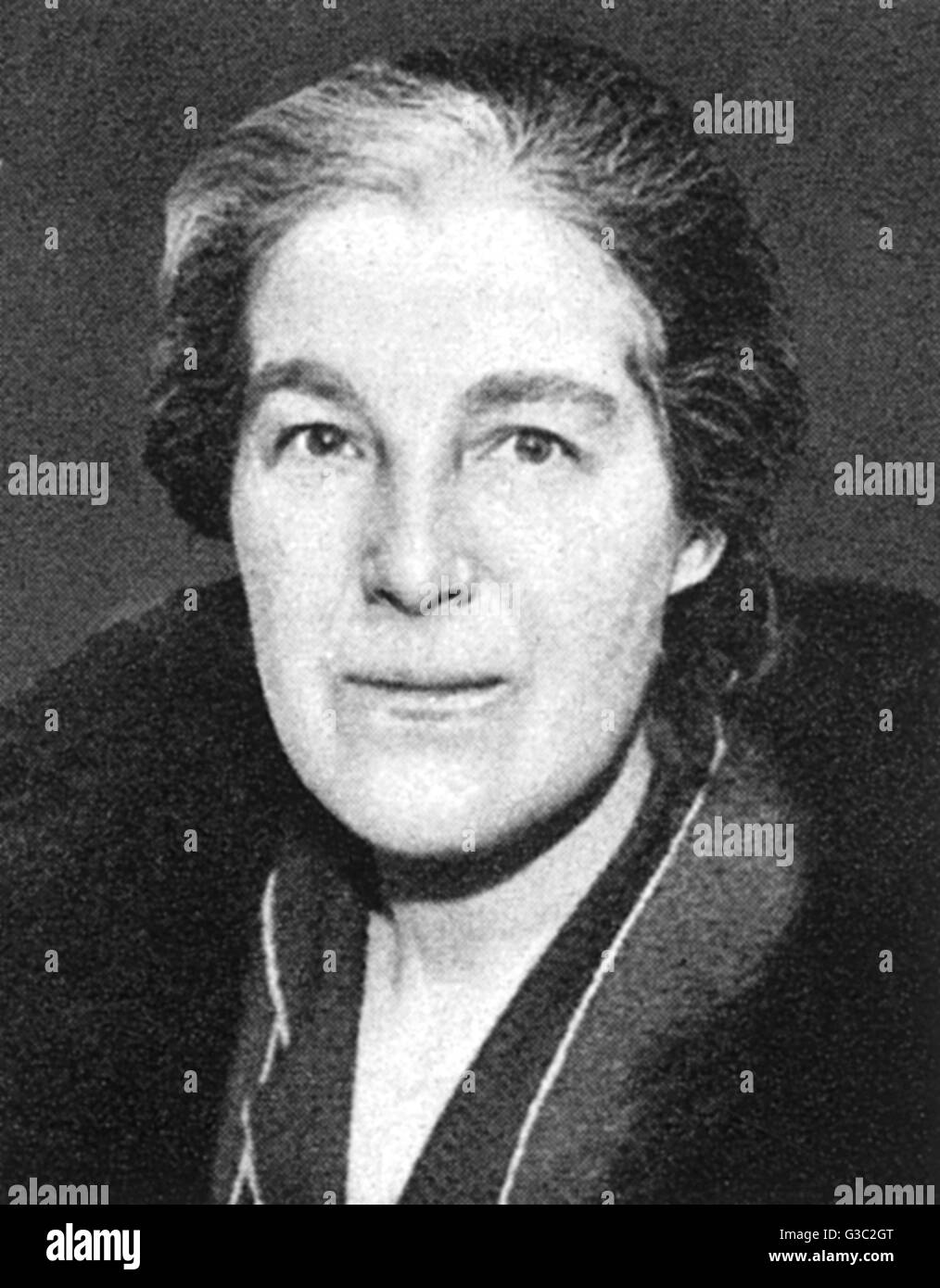 Margery Corbett Ashby (1882-1981), women's rights campaigner and Liberal candidate. She was president of several - Stock Image