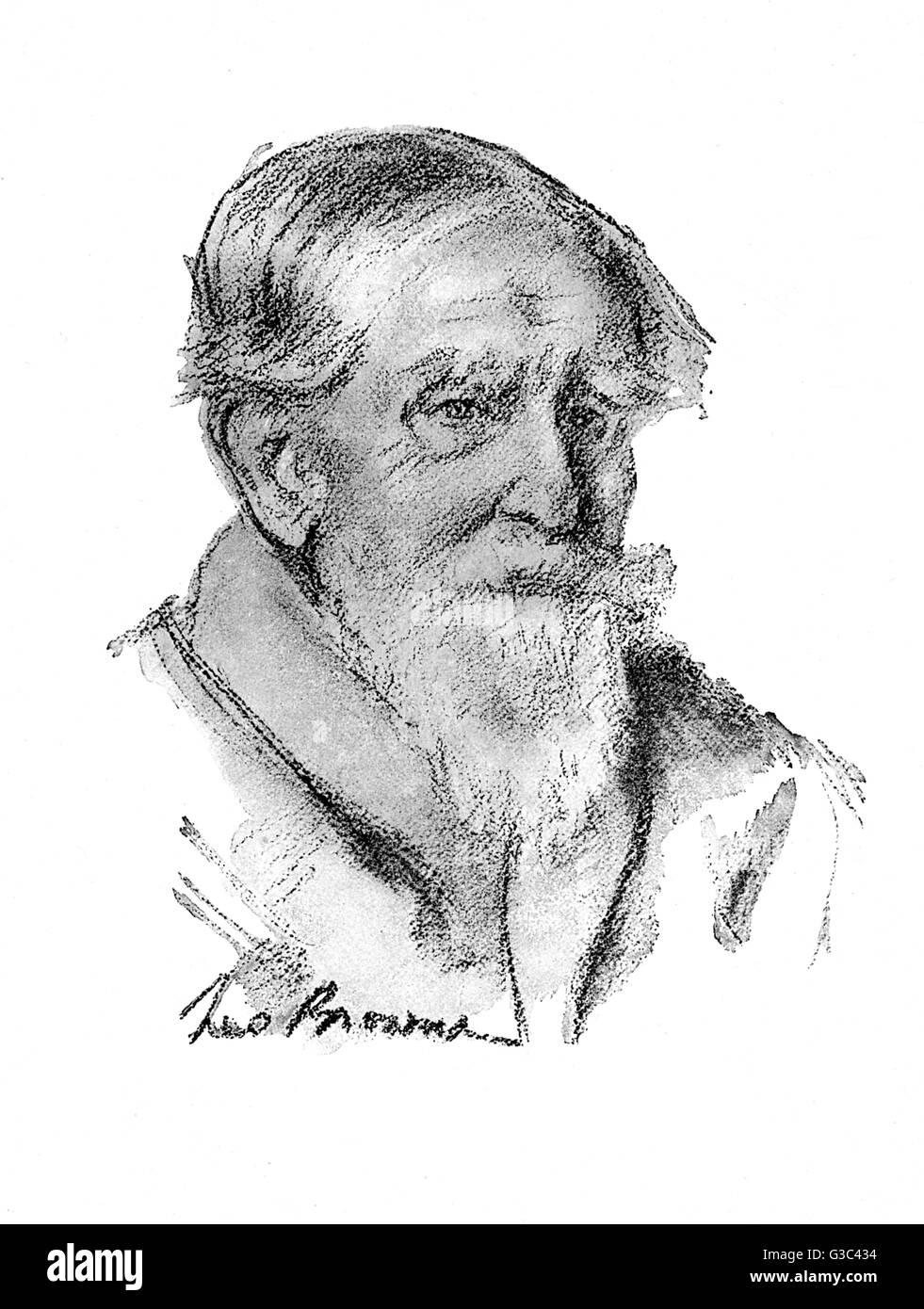 John Goodeve-Erskine, 27th Earl of Mar (1836-1930), Scottish aristocrat.      Date: 1925 - Stock Image