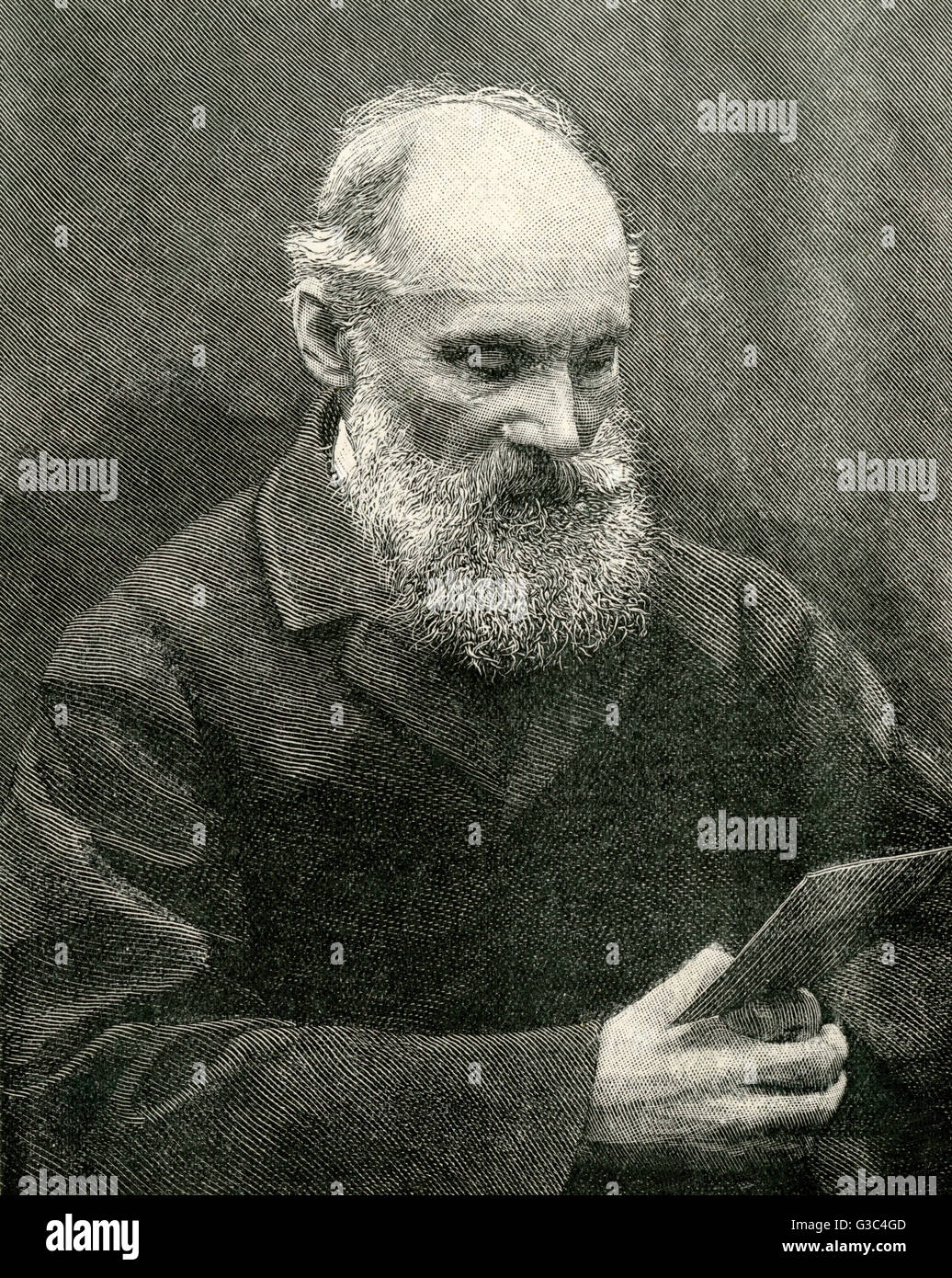 Sir William Thomson, 1st Baron Kelvin of Largs (1824-1907), British mathematical physicist and engineer.     Date: - Stock Image
