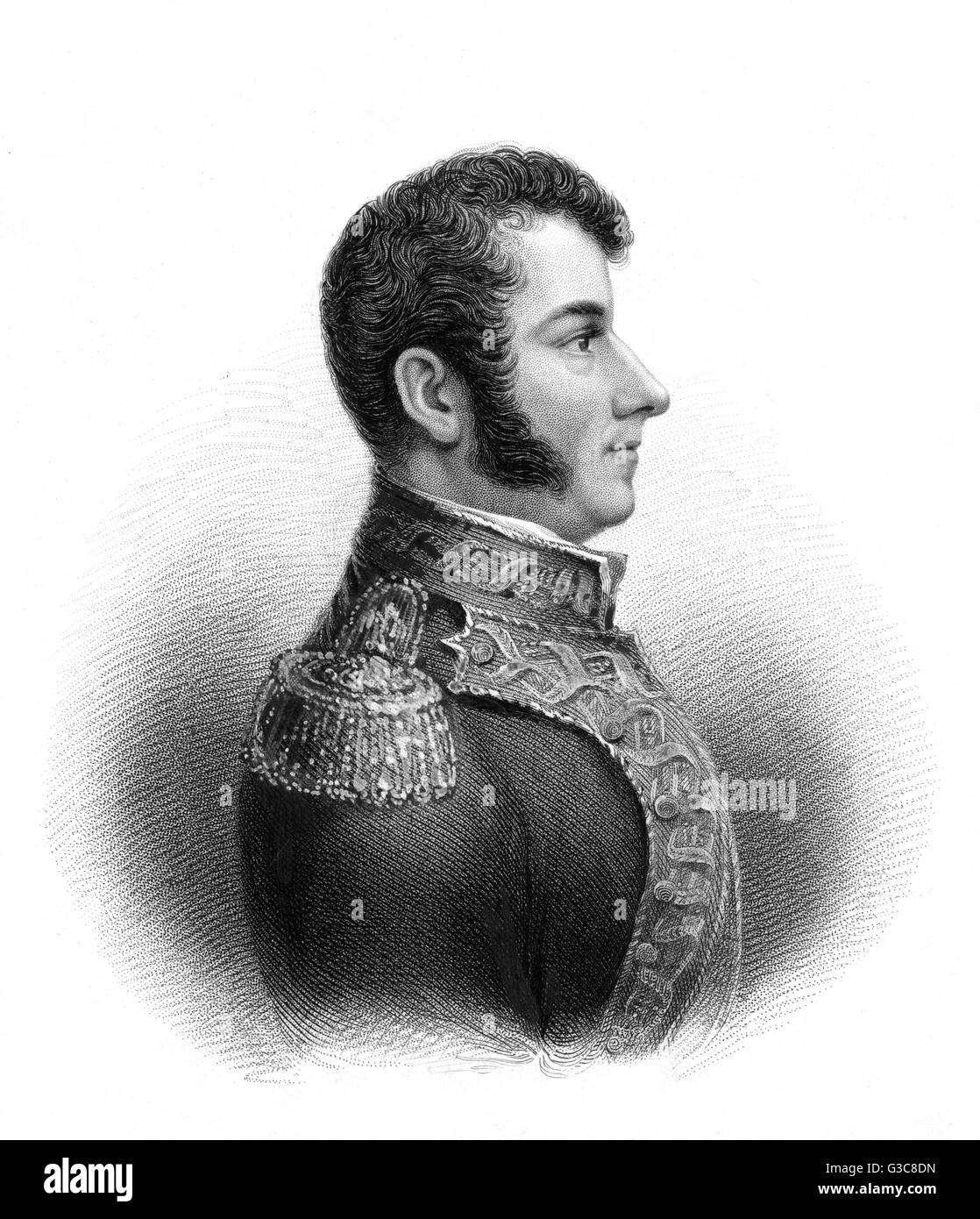 GUADALUPE VICTORIA (Manuel Felix Fernandez) Mexican soldier and statesman        Date: 1789 - 1843 - Stock Image
