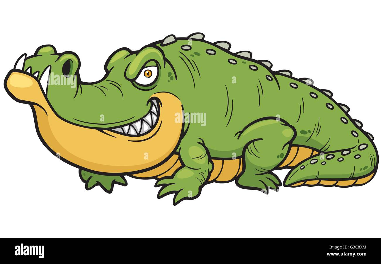 Crocodile Cartoon Stock Photos & Crocodile Cartoon Stock