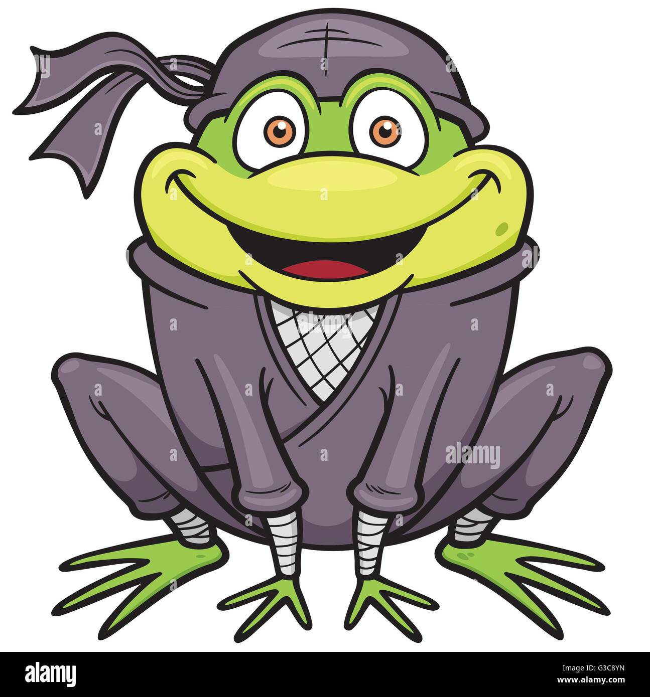Samurai Frog High Resolution Stock Photography And Images Alamy