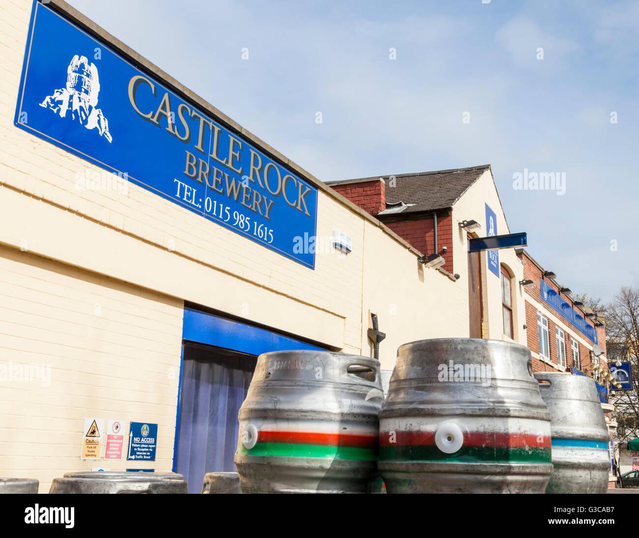 Castle Rock brewery, Nottingham, England, UK - Stock Image