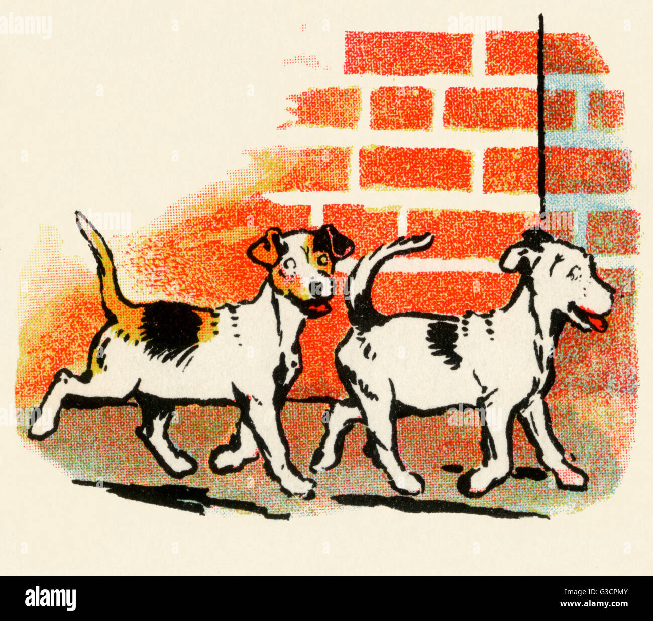 Illustration by Cecil Aldin, Stories from Puppyland  Two