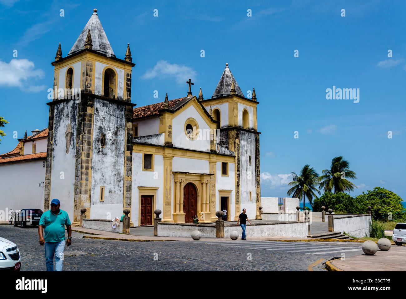 Catedral Alto da Sé, Olinda, Pernambuco, Brazil Stock Photo