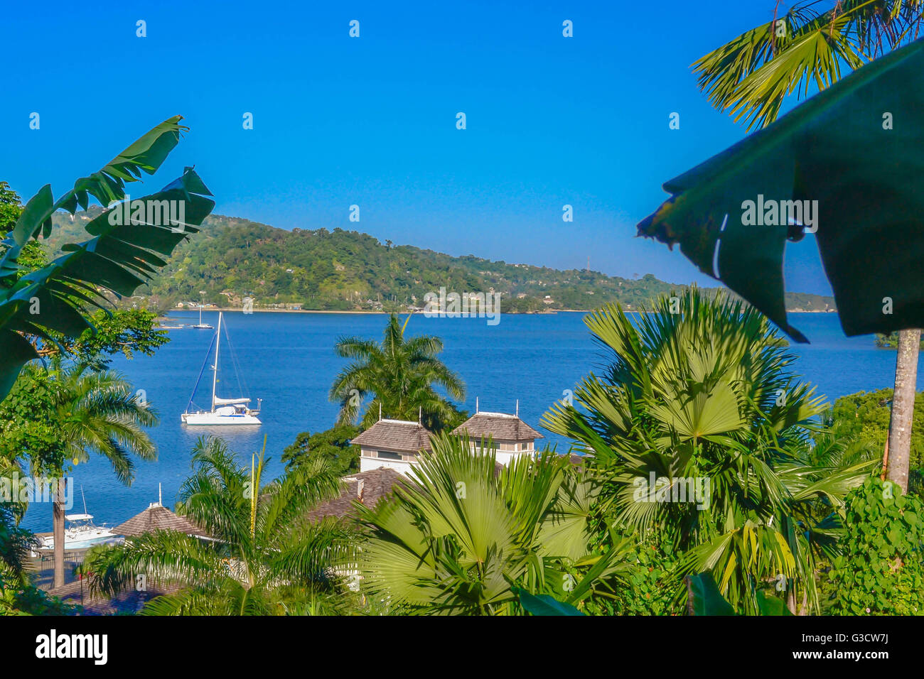 JAMAICA NATURE AND LANDSCAPE - Stock Image