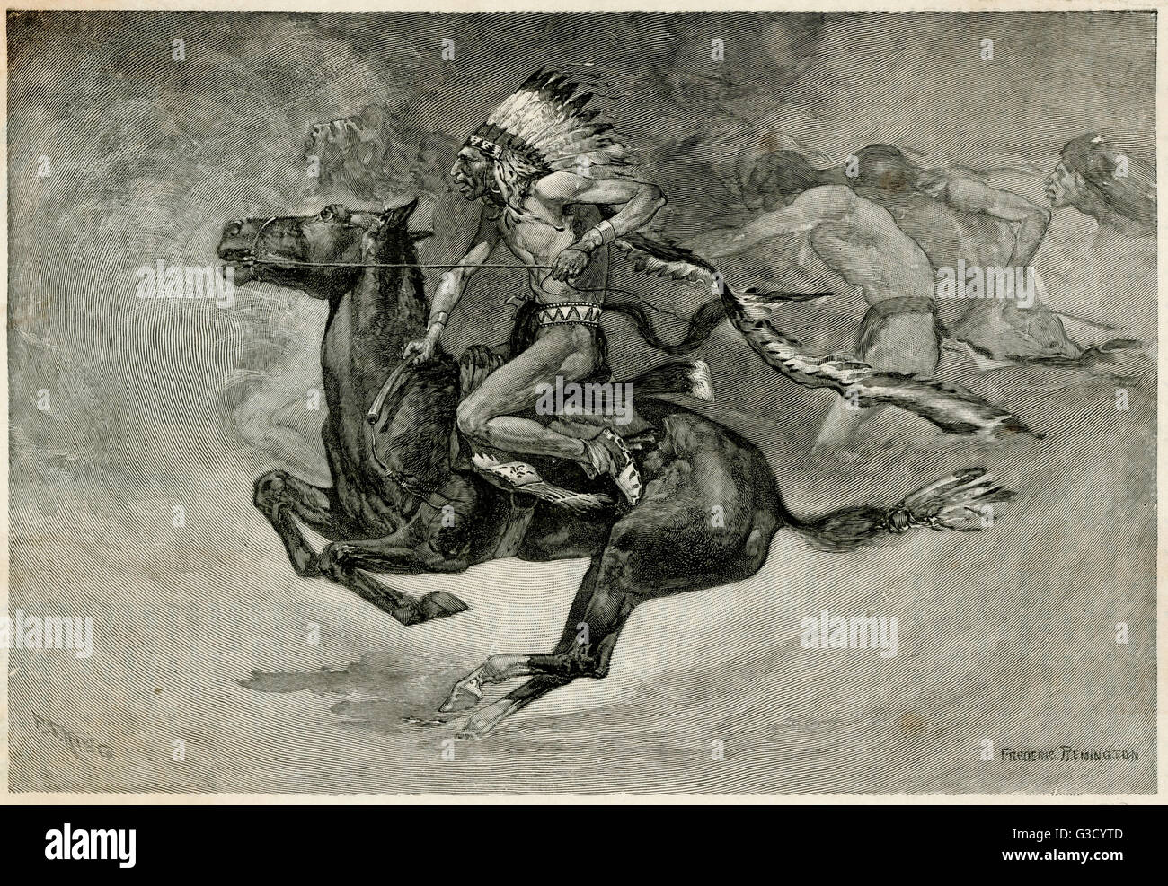 Native American Horse High Resolution Stock Photography And Images Alamy