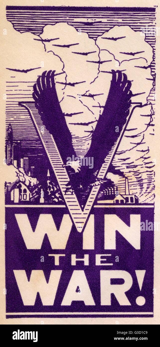 WW2 - Propaganda first day cover - Win the War! - The American Blad ...