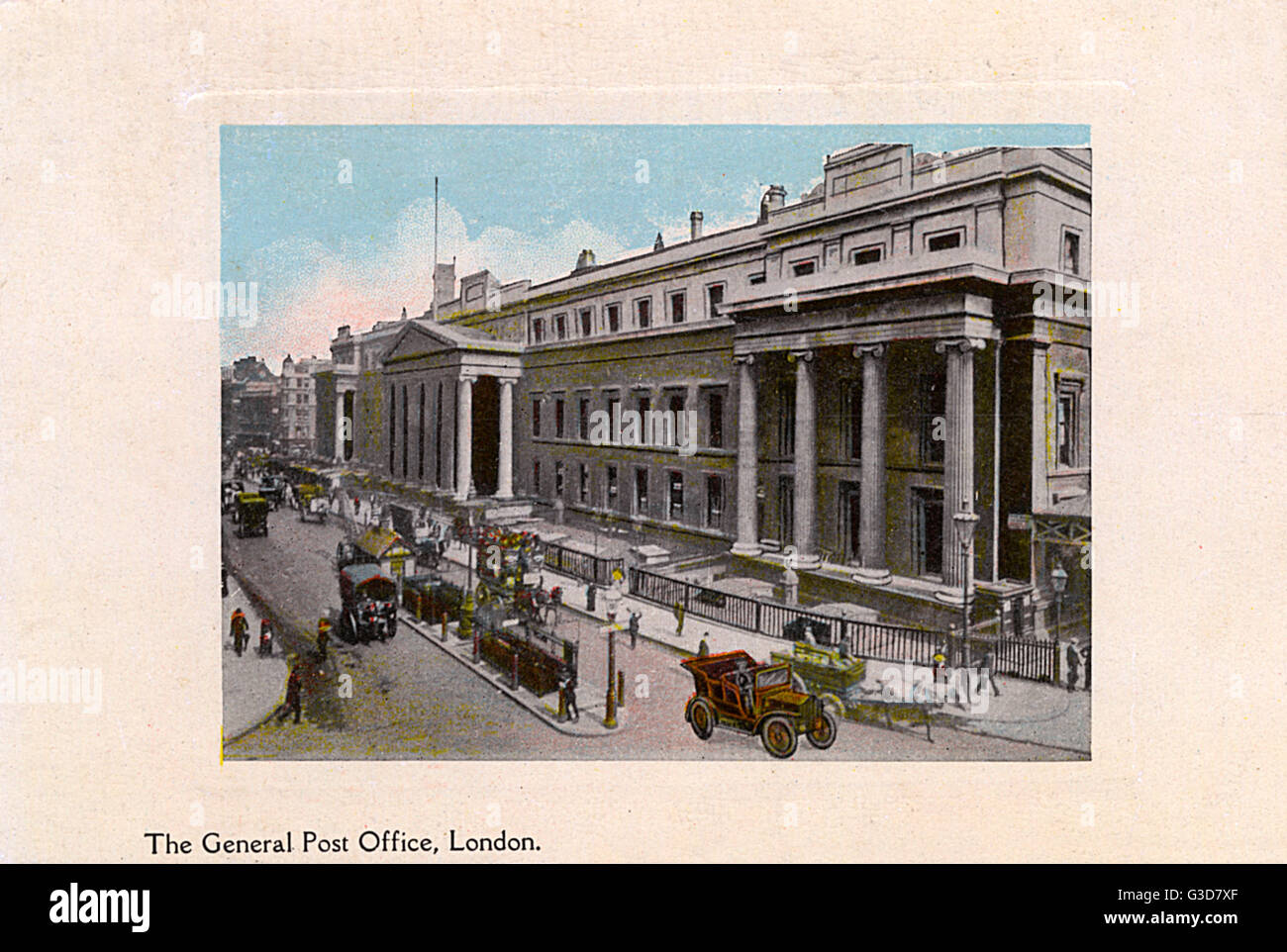 The General Post Office, London     Date: circa 1902 Stock Photo