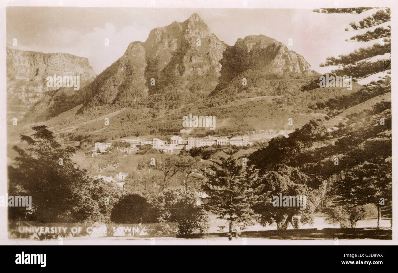 University of Cape Town, South Africa.      Date: circa 1940 - Stock Image