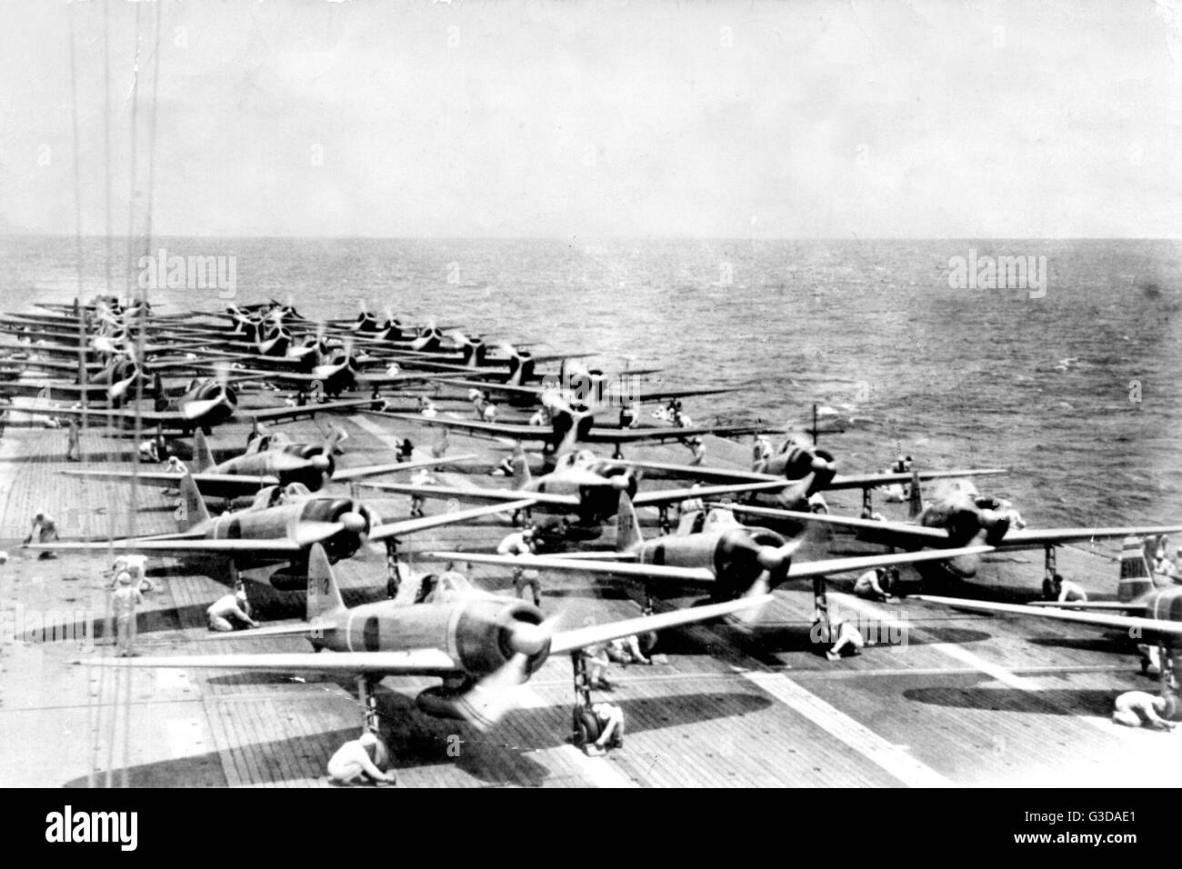 Japanese Aircraft Carrier Stock Photos & Japanese Aircraft