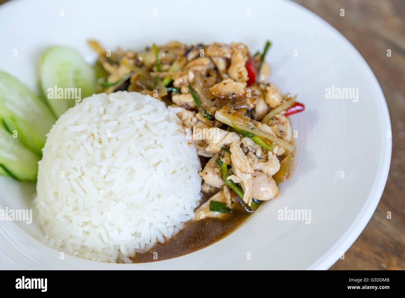 Thai food thai spicy food fried chicken with sweet basil stock thai food thai spicy food fried chicken with sweet basil stock photo 105402315 alamy forumfinder Image collections