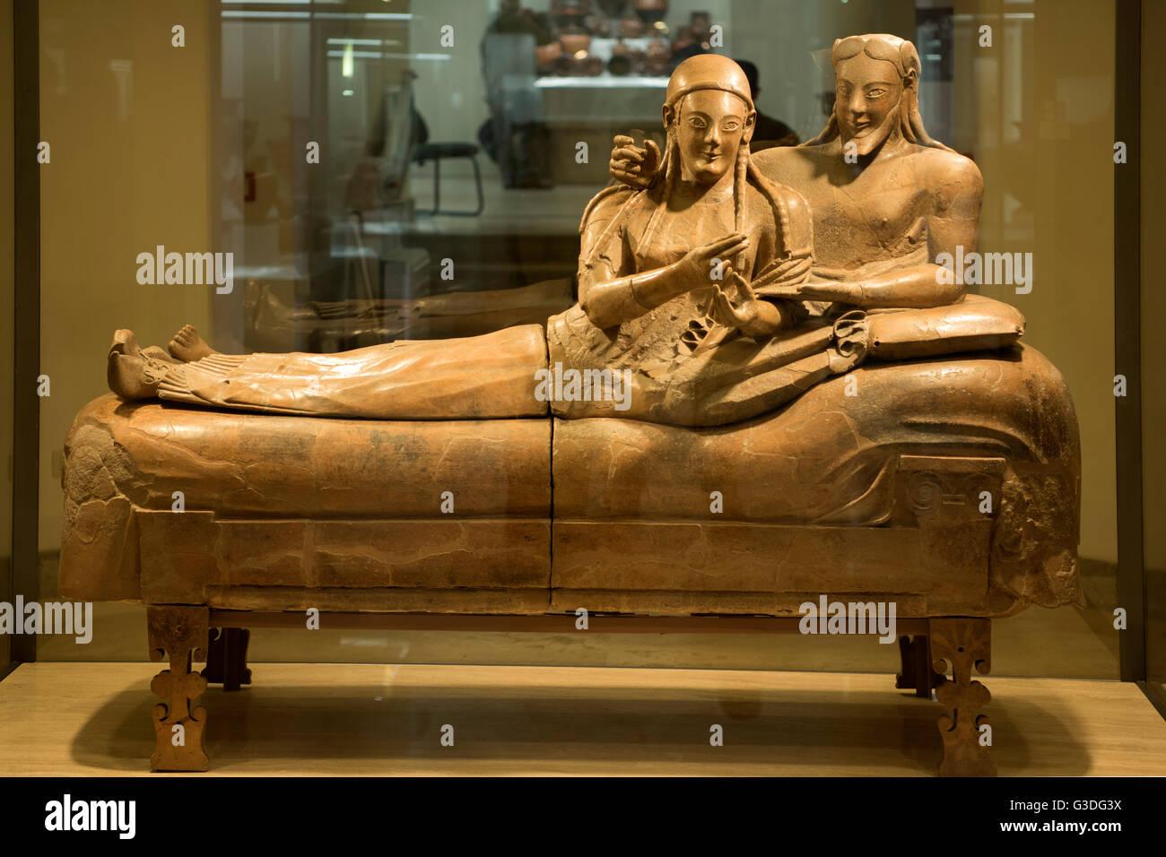 Italien rom museo nazionale etrusco di villa giulia for Degli sposi