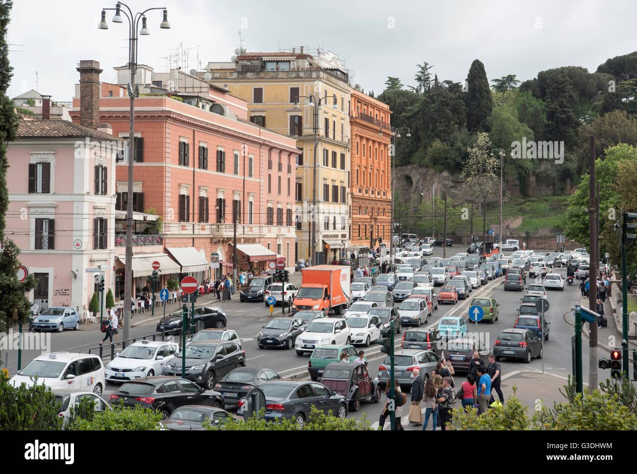 Italien, Rom, Stadtansicht - Stock Image
