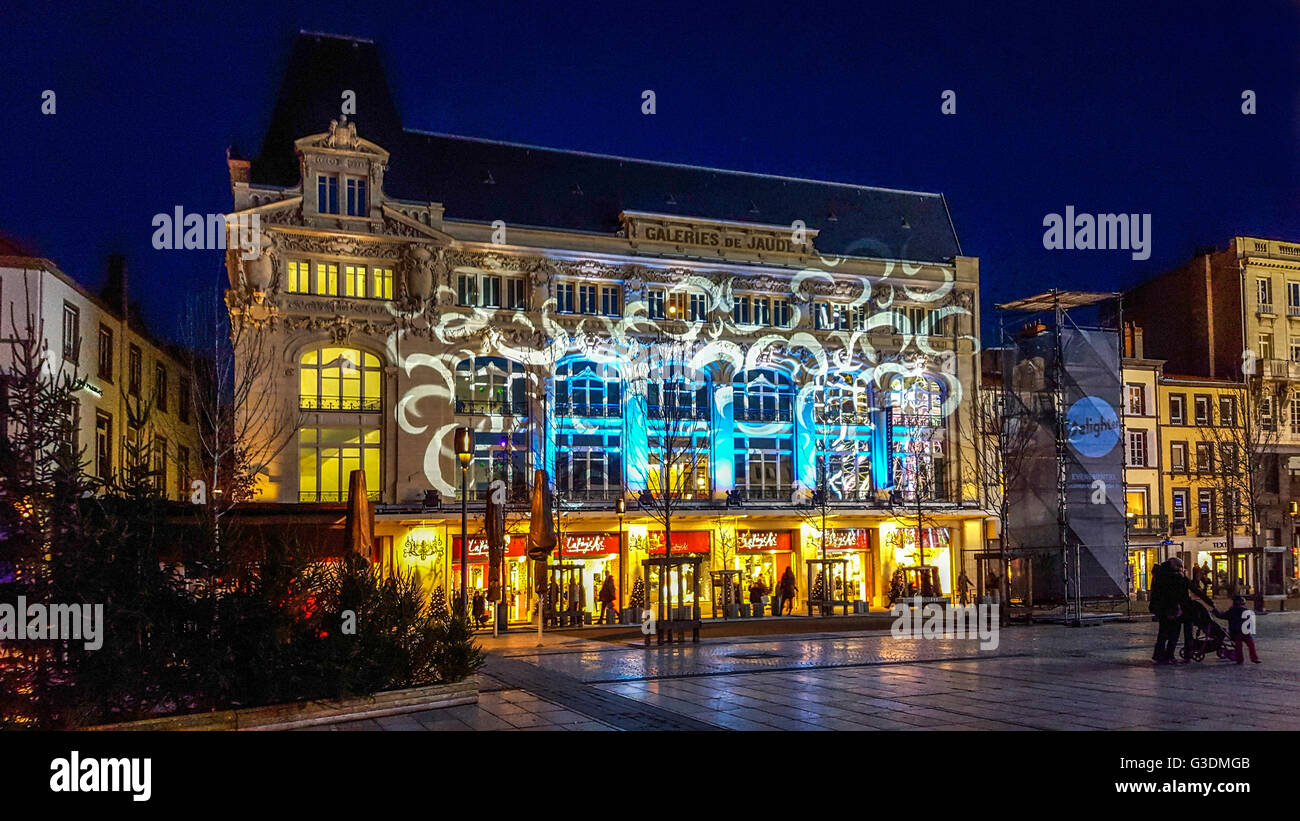 christmas decoration in clermont ferrand puy de dome auvergne stock photo 105407691 alamy. Black Bedroom Furniture Sets. Home Design Ideas