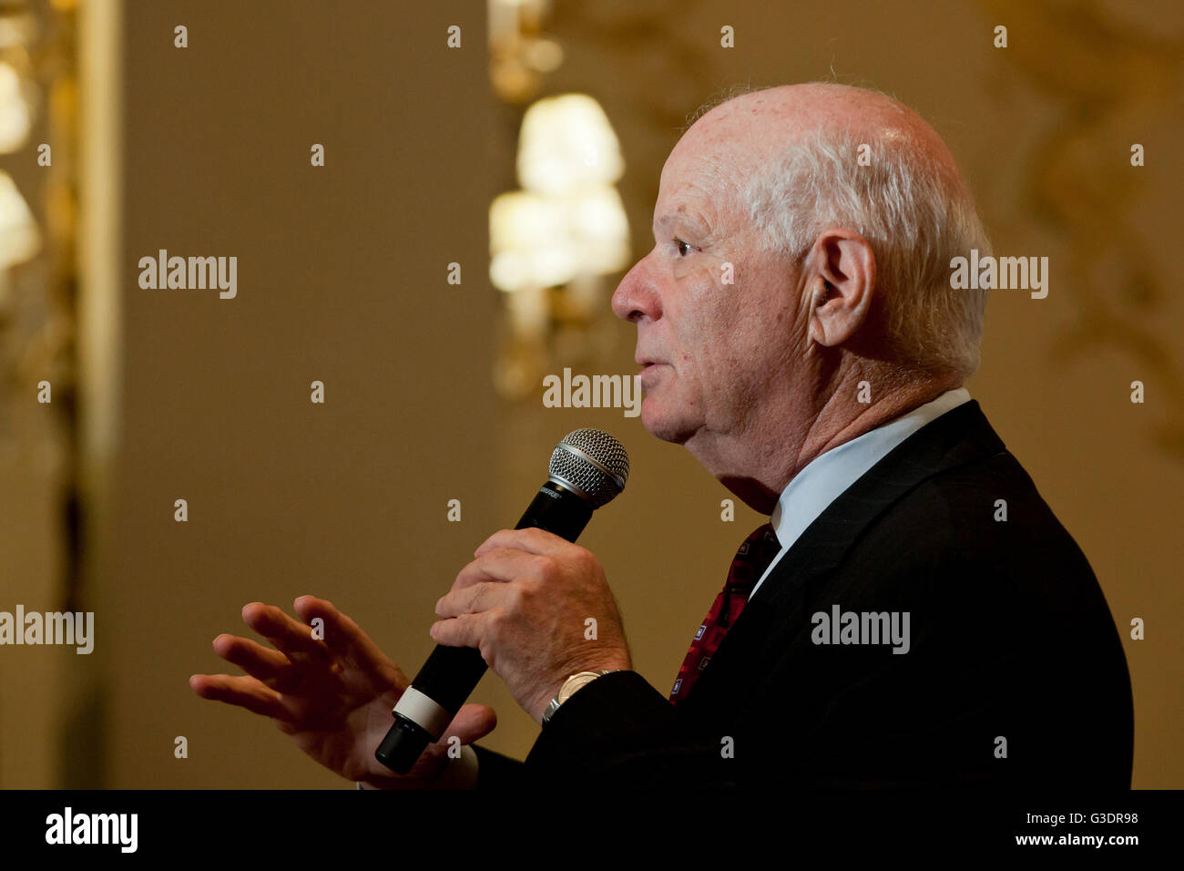 Ben Cardin, junior Senator, Democrat, Maryland, USA - Stock Image