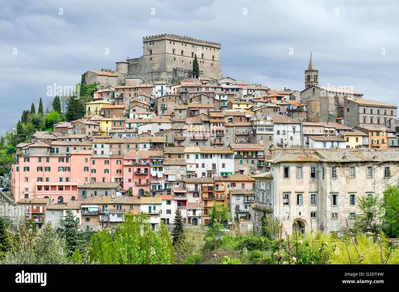 Viterbo - Soriano nel Cimino - Lazio - Italy travel - Stock Image