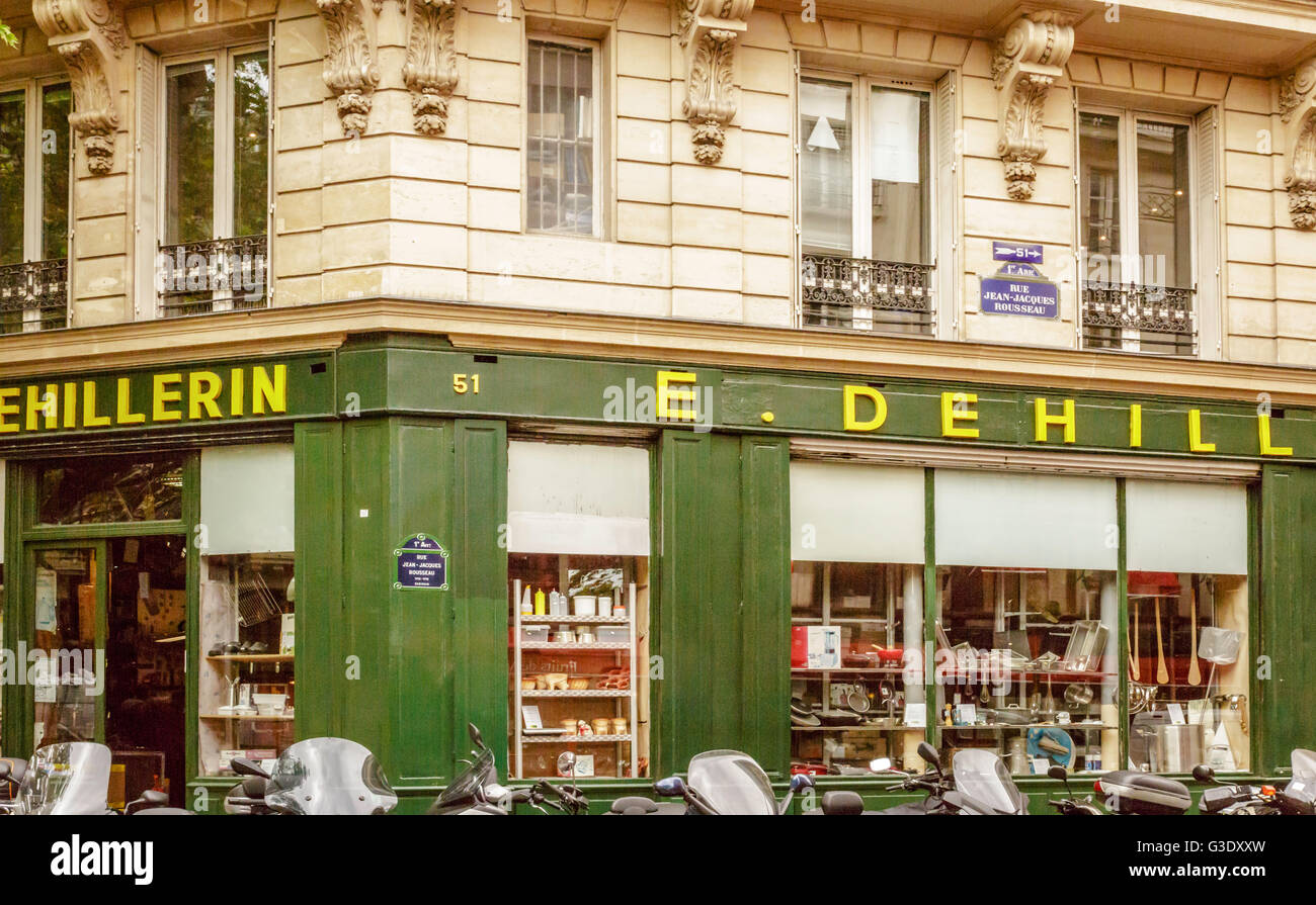E DeHillerin Is A Famous Kitchen Supply Store In Paris. It Is Reported That  This Was Julia Childu0027s Favourite Kitchen Store.