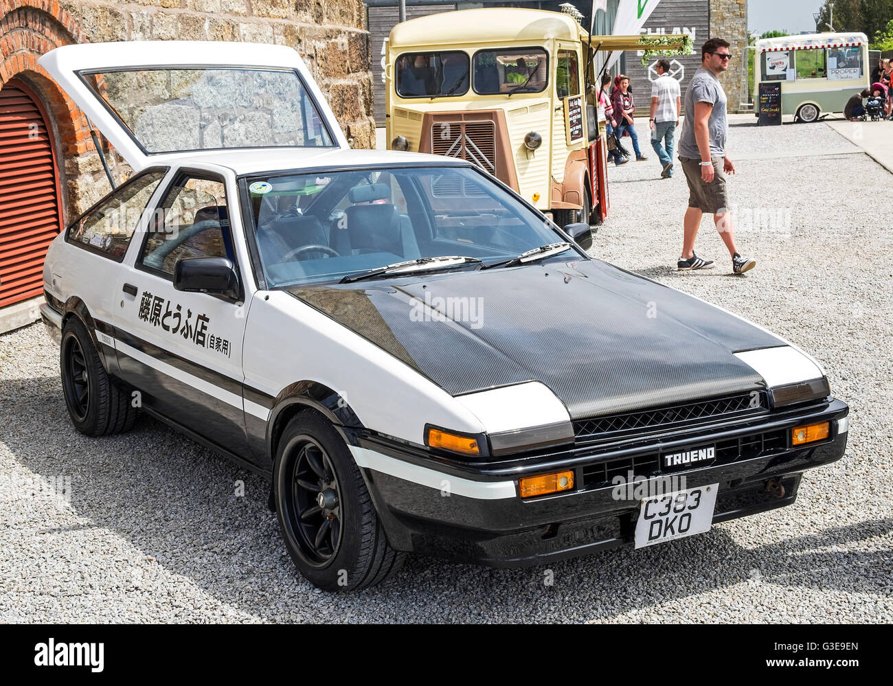 A Toyota AE 86 - Stock Image