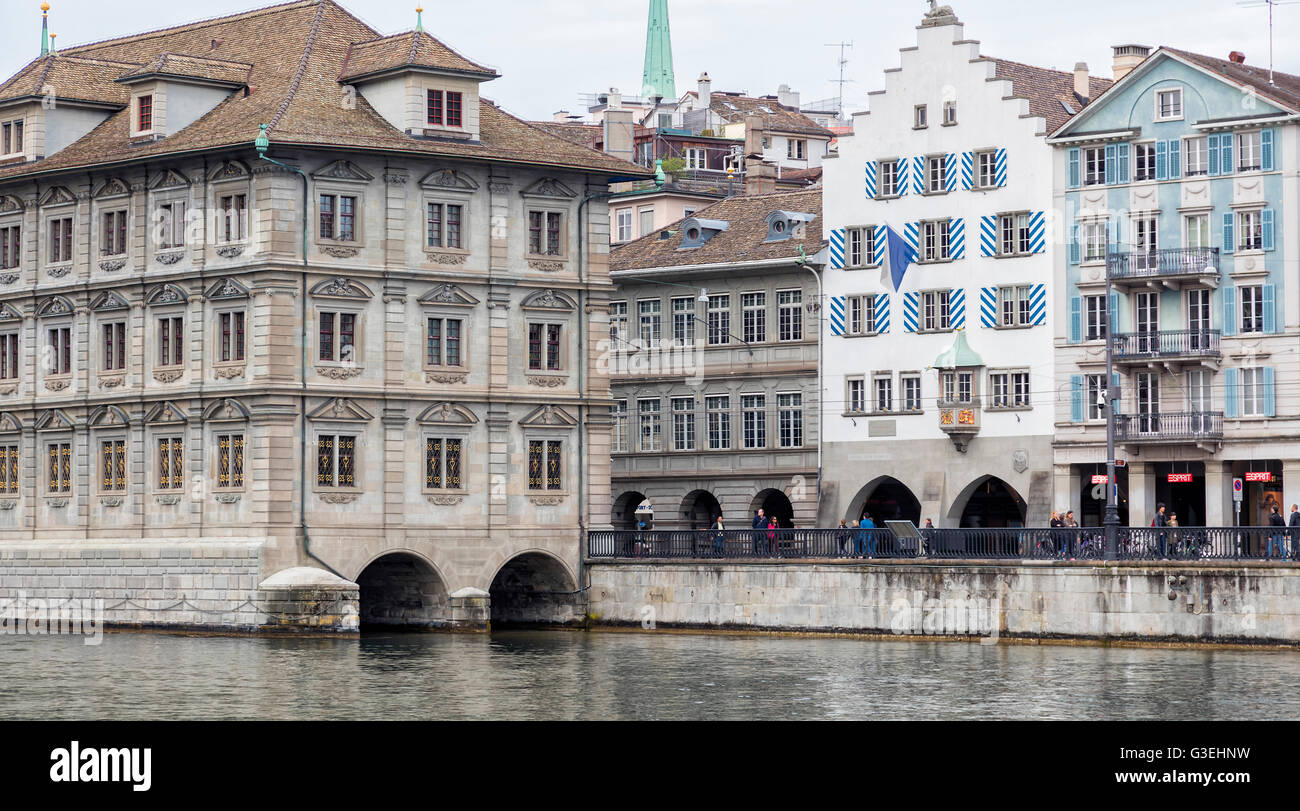 Zurich City, Switzerland - Stock Image