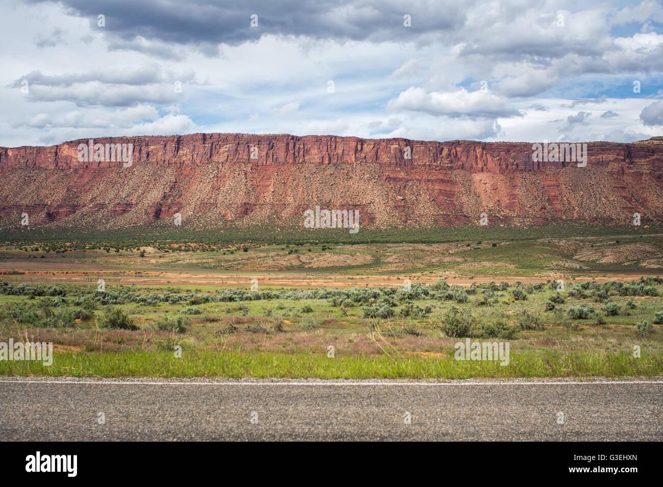 Paradox Valley, Colorado, USA Stock Photo