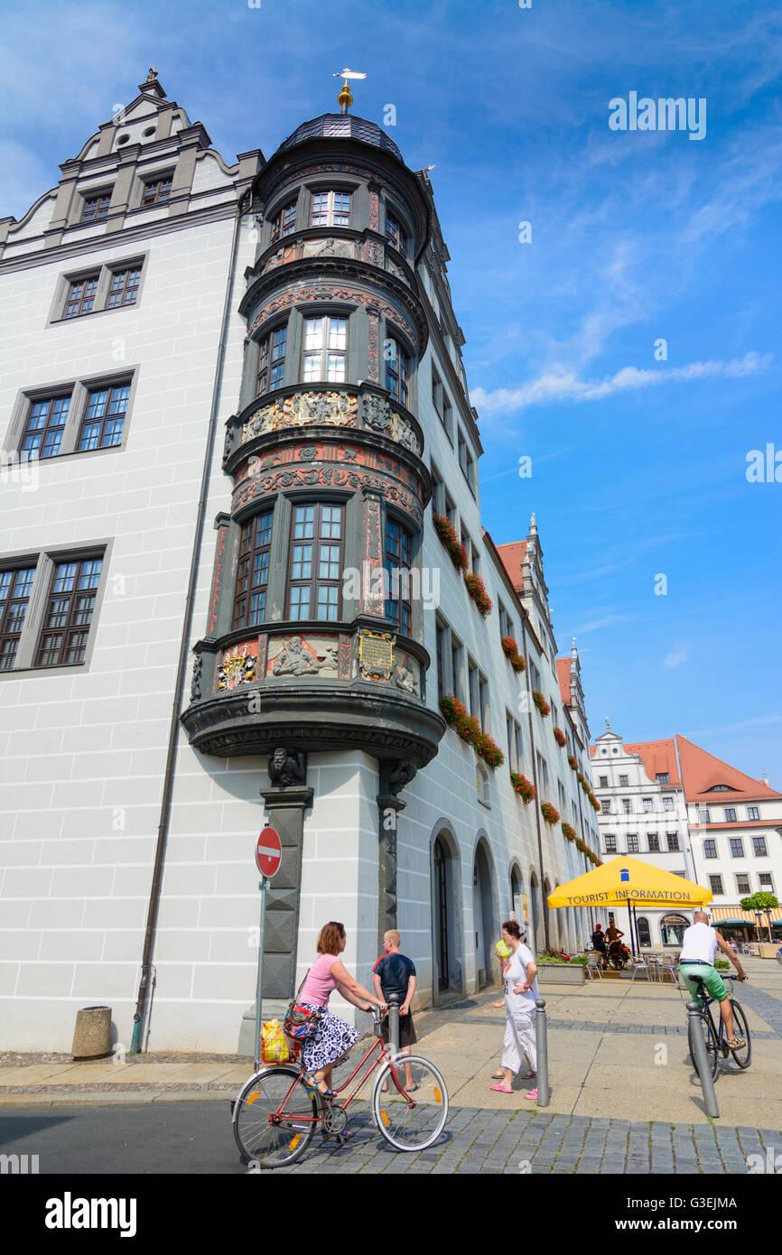 town hall, Germany, Sachsen, Saxony, , Torgau Stock Photo