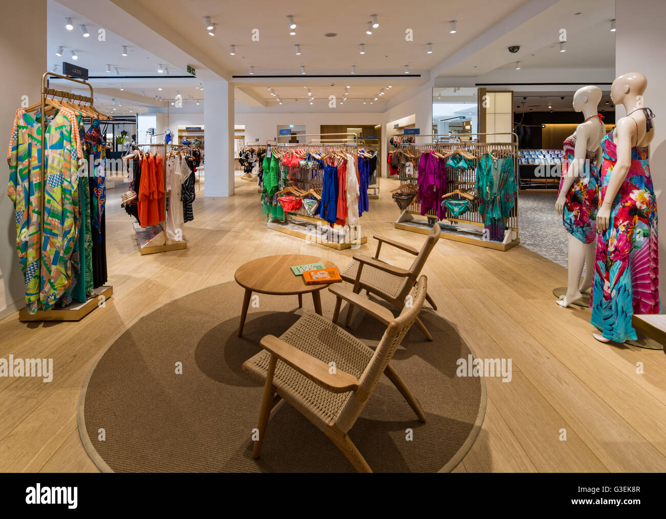 Clothing Store Interior Design High Resolution Stock Photography And Images Alamy