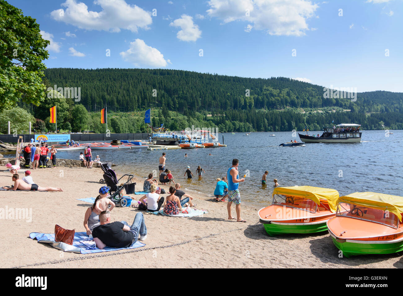 Titisee Lake High Resolution Stock Photography And Images Alamy