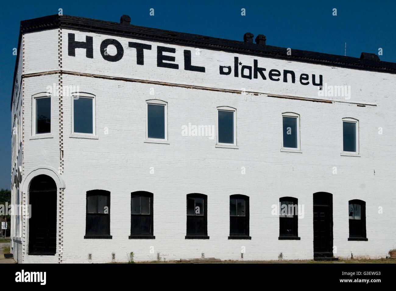 Hotel Blakeney Pageland, SC, USA. - Stock Image