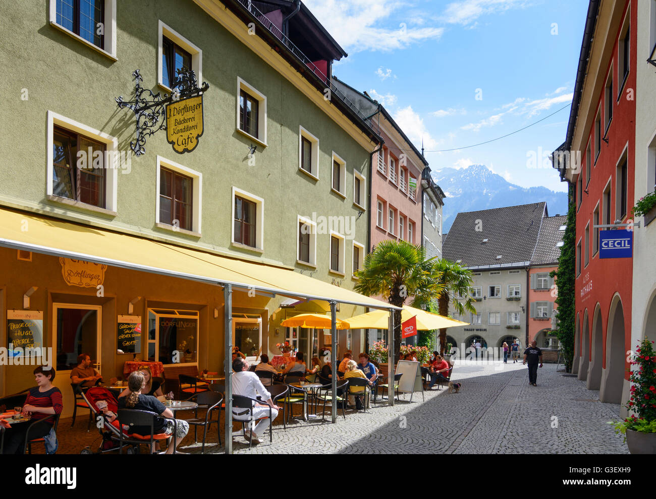 good super cute order online Alley Rathausgasse In Old Town Stock Photos & Alley ...
