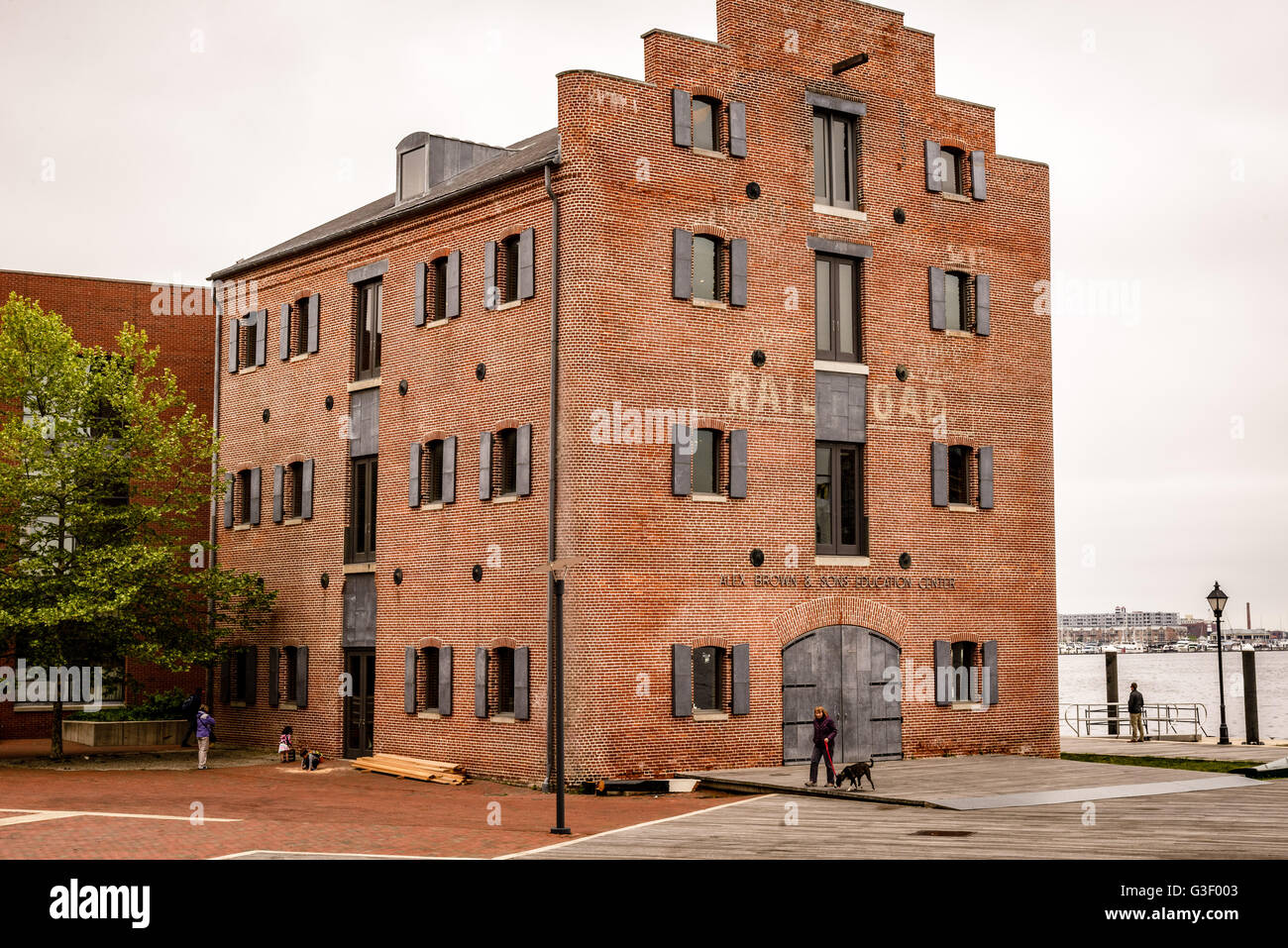 Restored 1840s Warehouse Frederick Douglass Isaac Myers Maritime