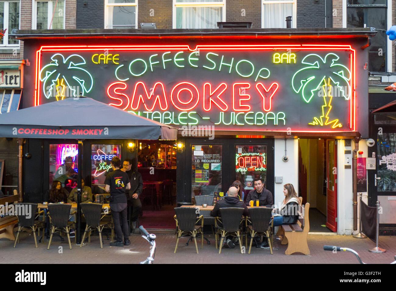 Niederlande Coffeeshops