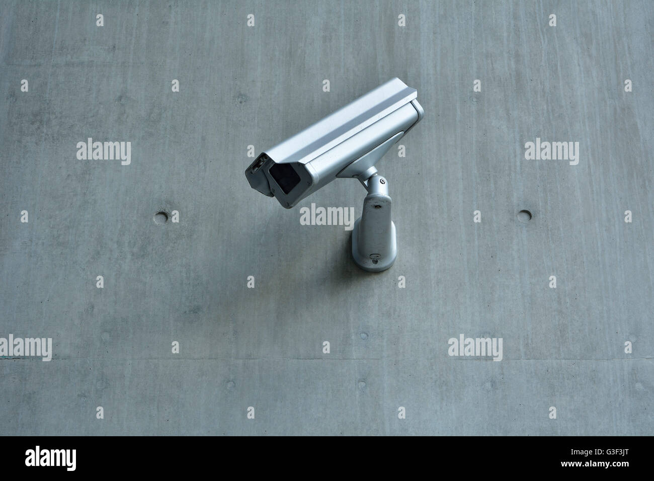 Surveillance Camera on Skyscraper, Brisbane, Queensland, Australia Stock Photo